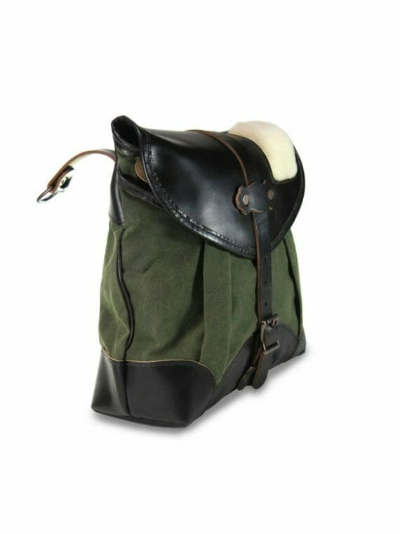 Creel Pack: Angled - Olive Green and Black