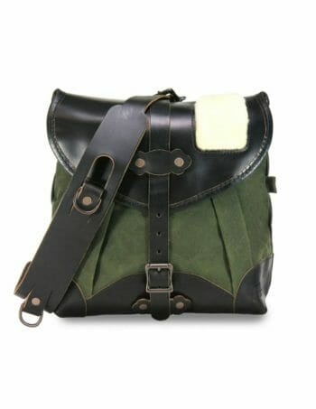 Creel Pack: Front - Olive Green and Black