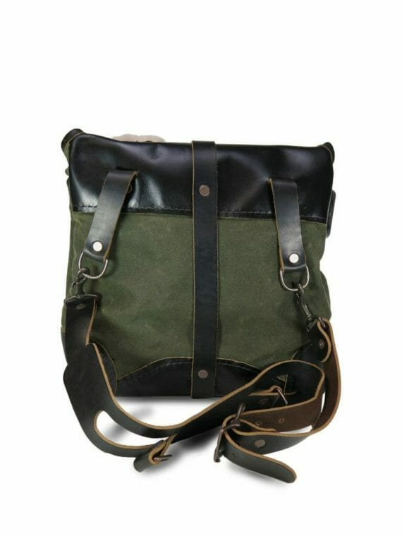 Creel Pack: Back - Olive Green and Black