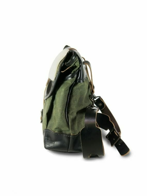 Creel Pack: Side - Olive Green and Black