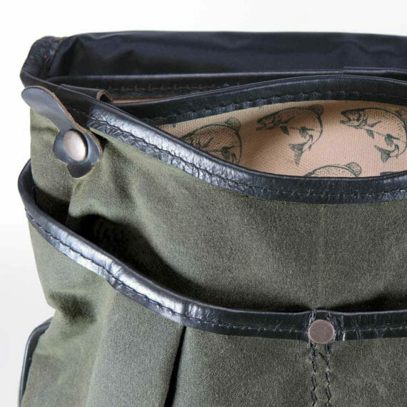 Creel Pack: Open Front- Olive Green and Black