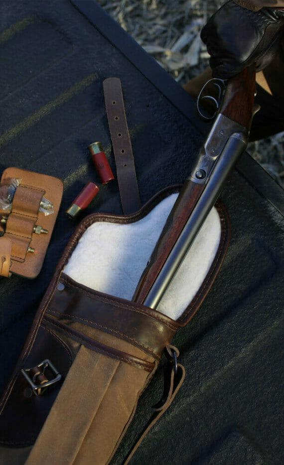 Gun Case With Gun
