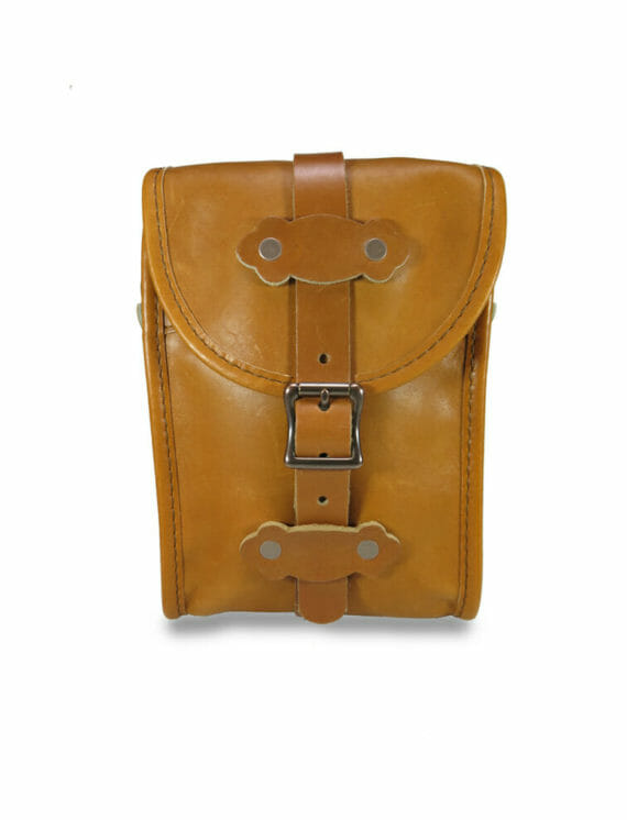 Birdwatcher Bag Front - English Tan