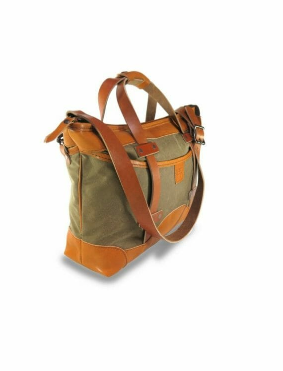 Porter Carry-On: Angled - Spice and English Tan