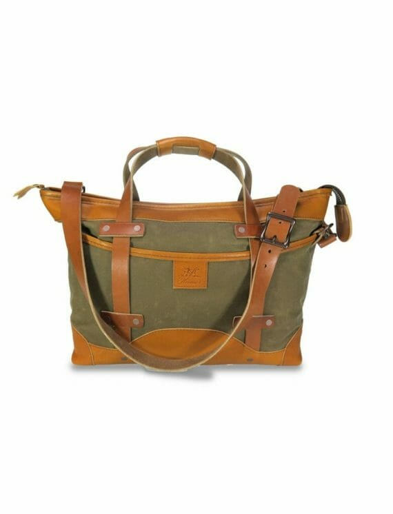 Porter Carry-On: Front - Spice and English Tan