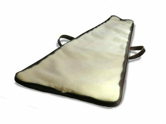 Zippered Gun Case - Open